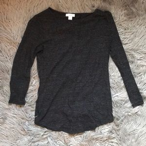 Charcoal long sleeve